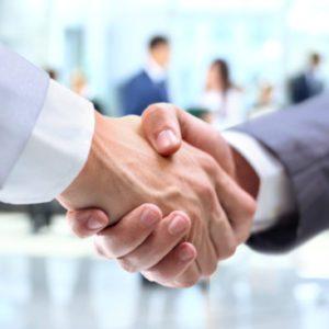لوگوی گروه از ملاقات تجاری